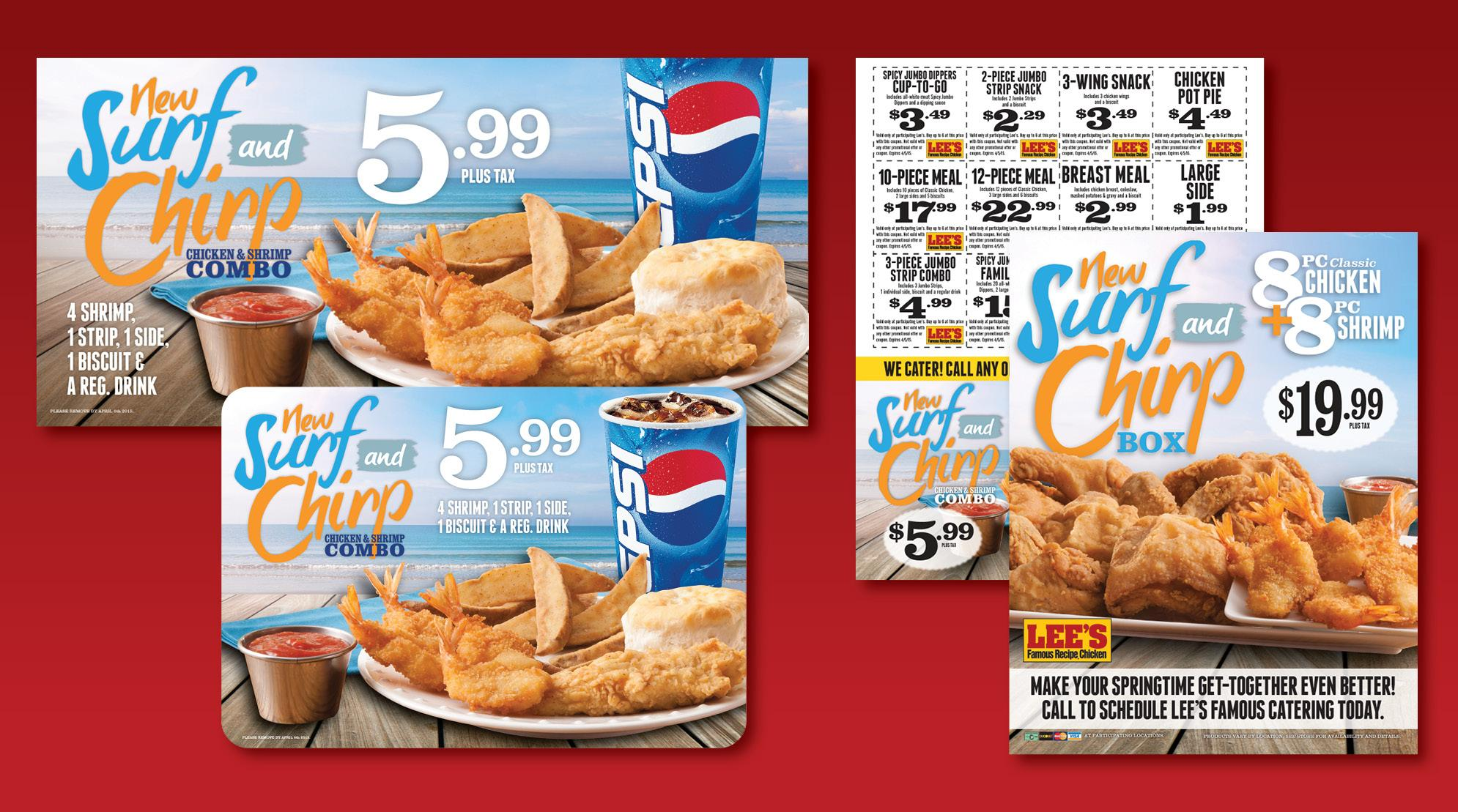 Lee's Famous Recipe Chicken POP #2