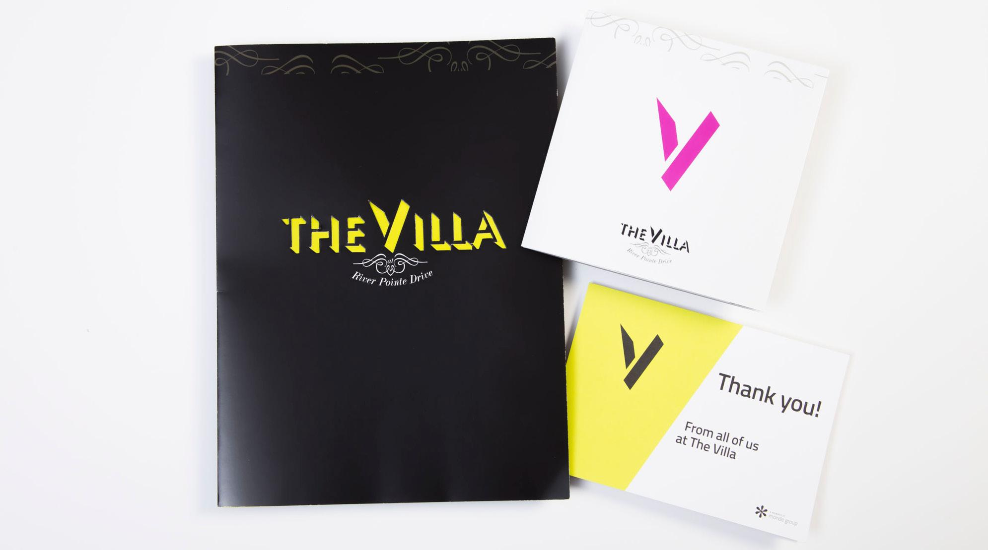 The Villa Collateral Work - Prints