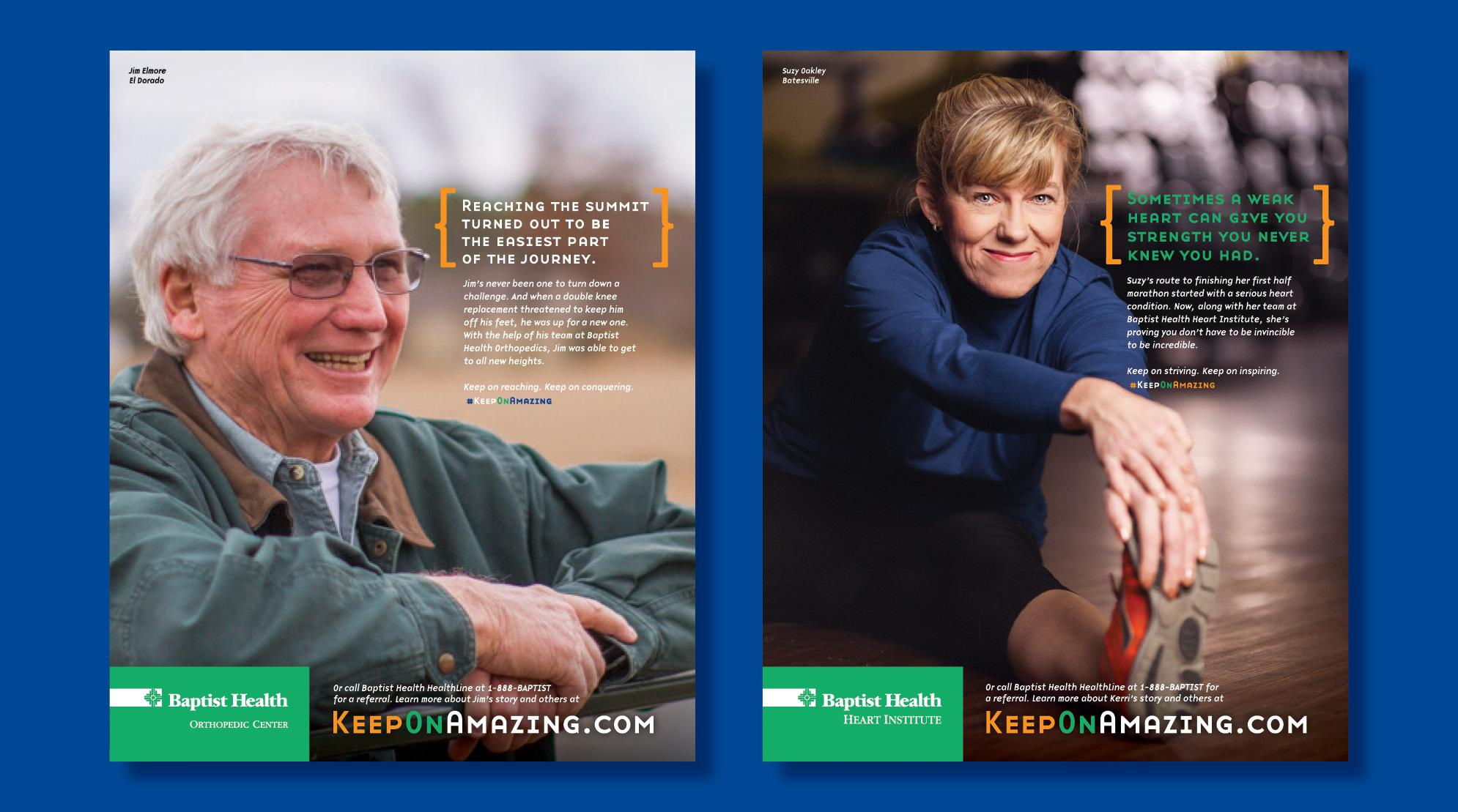 Keep On Amazing Print Advertising - Slide Number Five