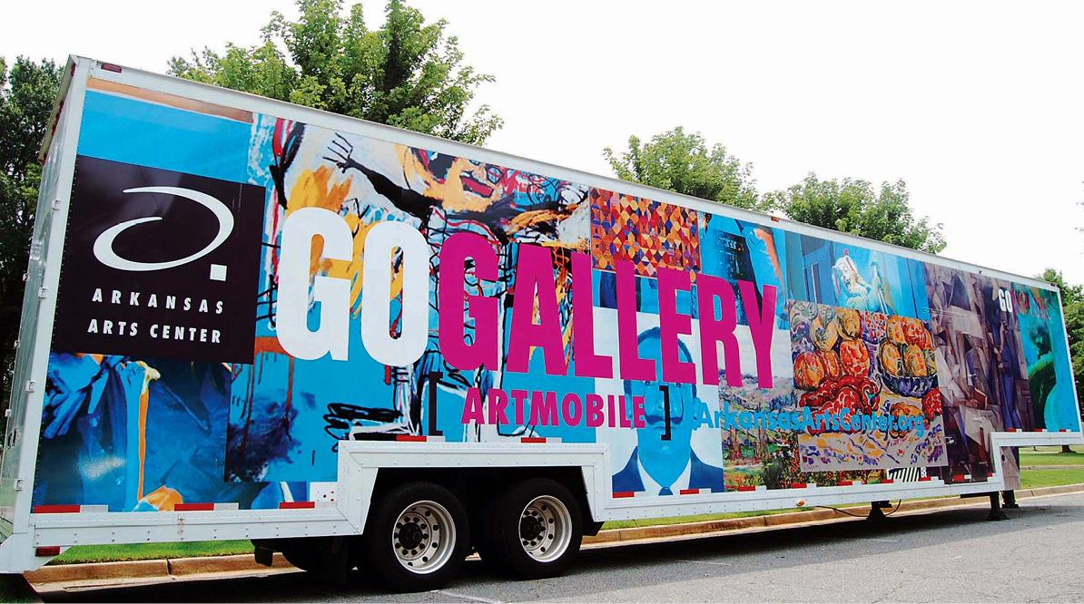 Arkansas Arts Center Artmobile Wrap