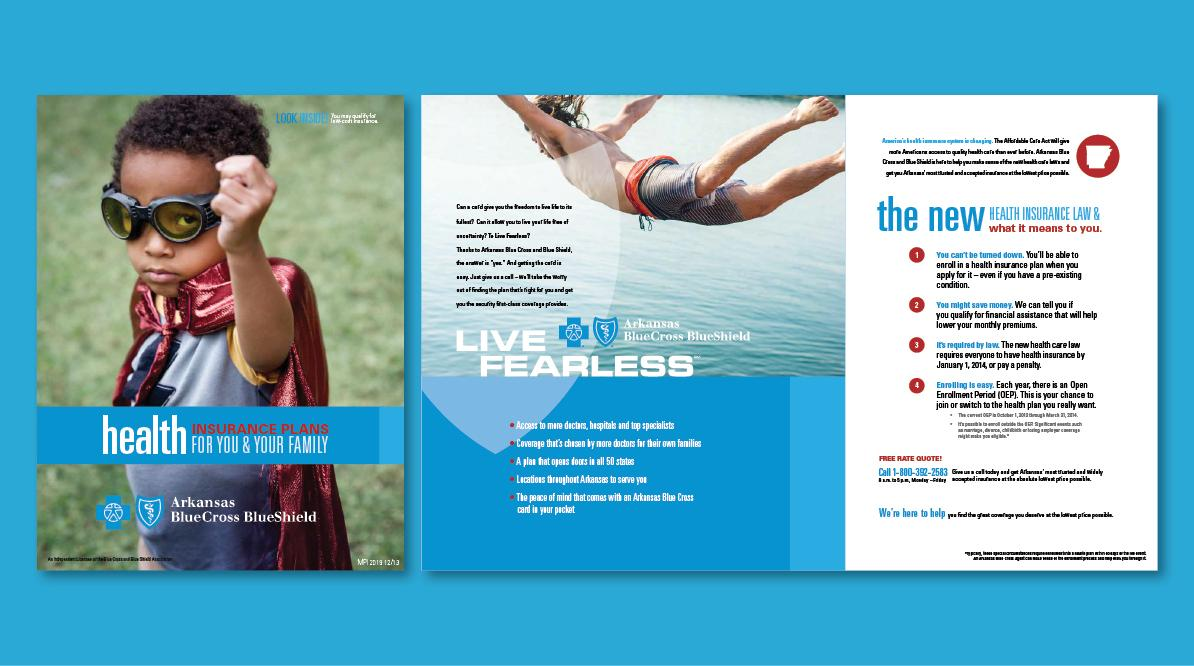 Arkansas Blue Cross Blue Shield Live Fearless Brochure