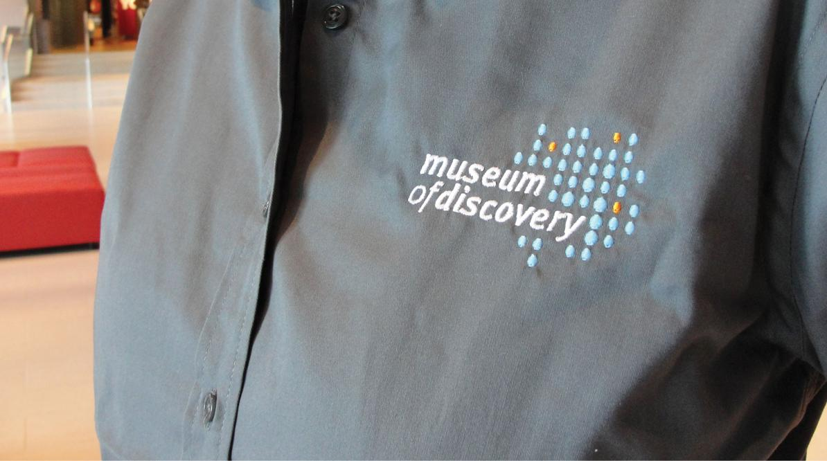Museum of Discovery Apparel