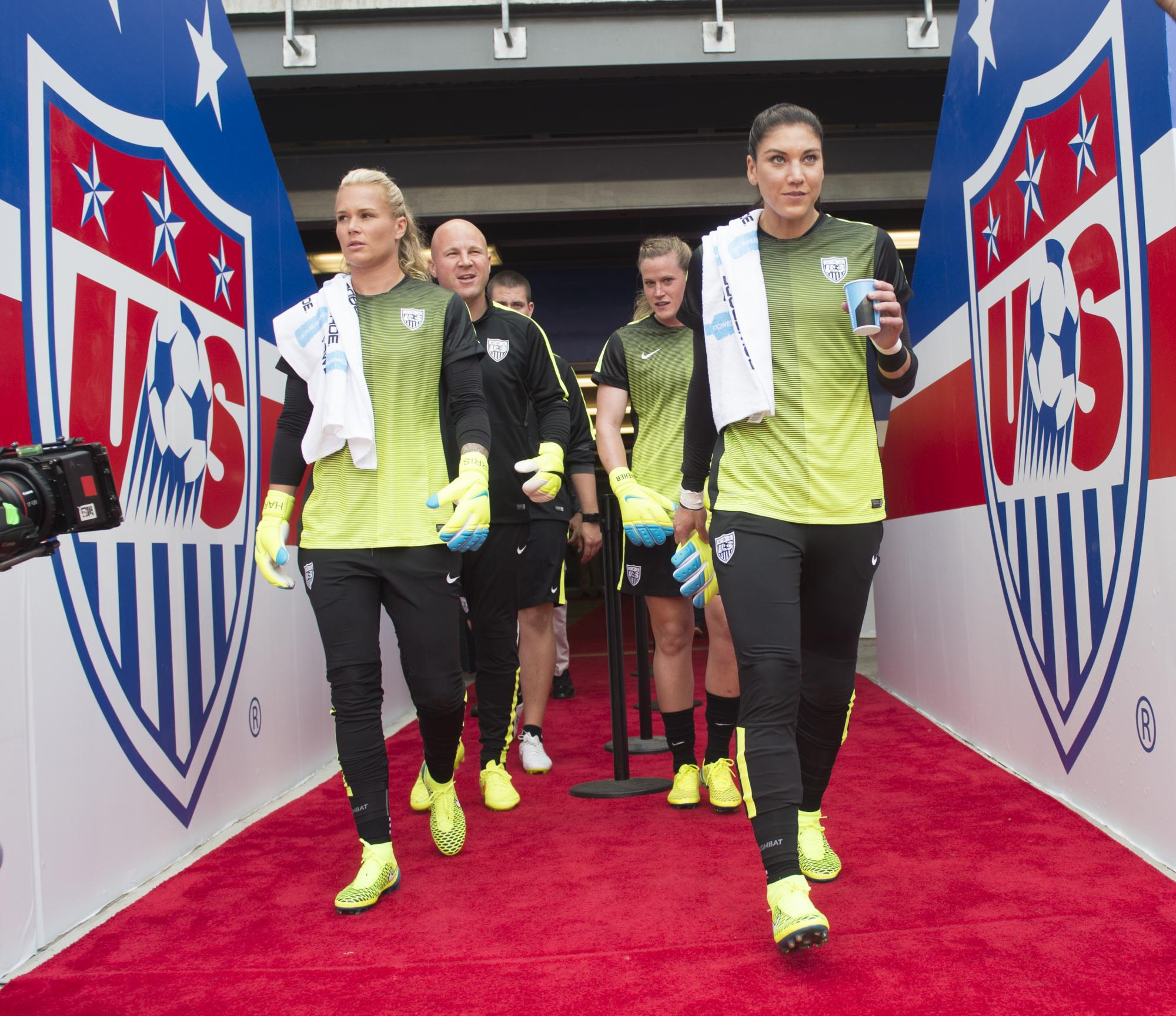 U.S. Soccer Stadium Design - Players Entrance