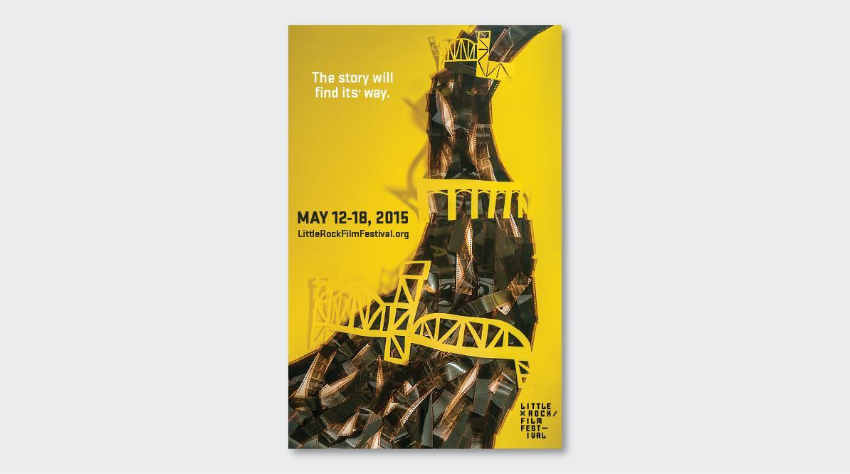 Little Rock Film Festival Event Poster