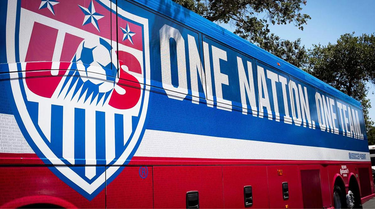 U.S. Soccer Bus Wrap