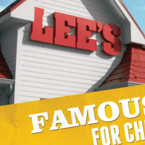 Lee's Famous Recipe Chicken Outdoor Poster
