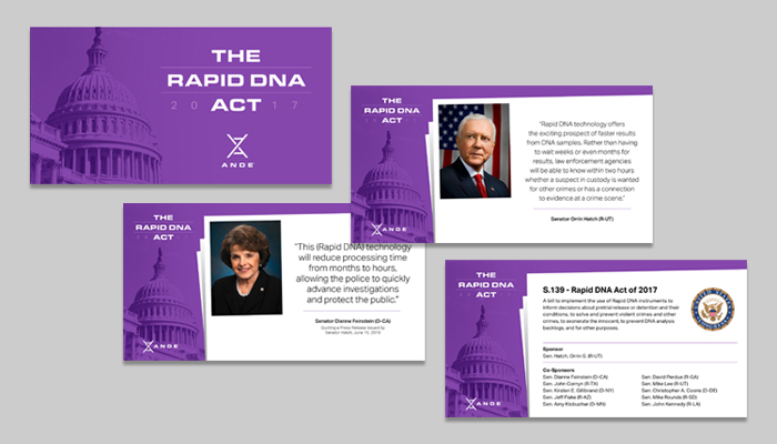 The Rapid DNA Act passes unanimously into law.
