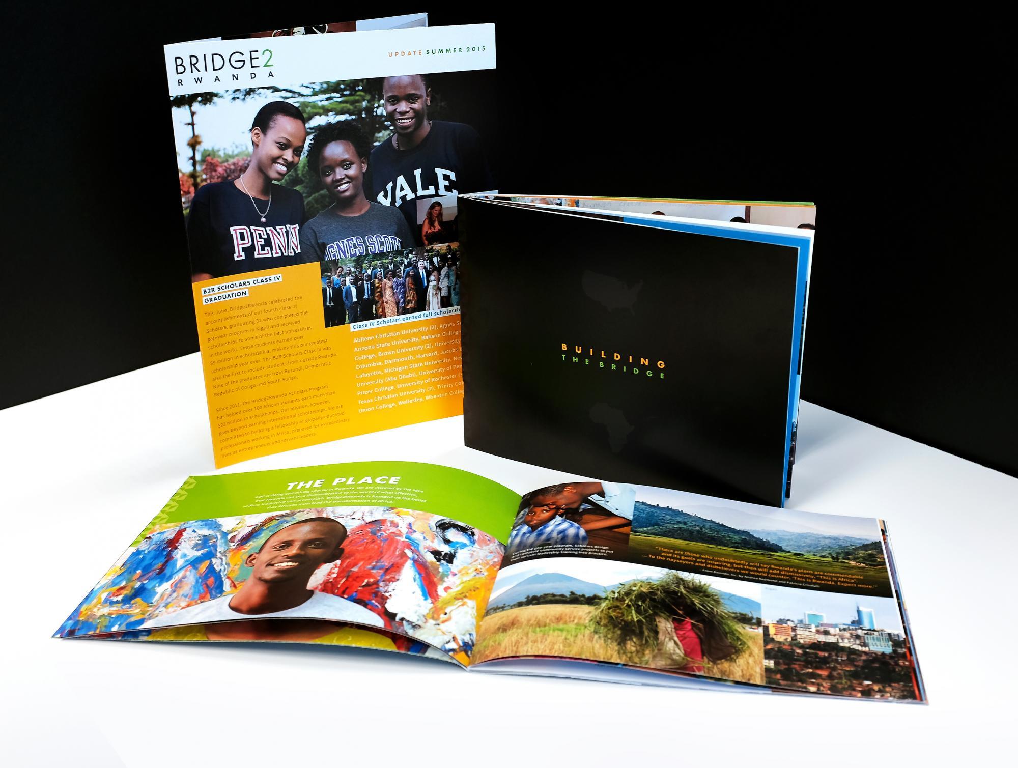 Bridge2Rwanda Collateral Brochures