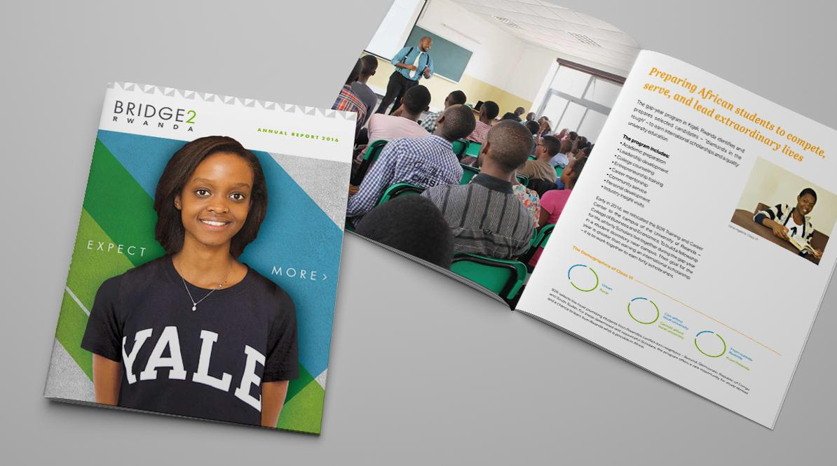 Bridge2Rwanda Annual Report Design