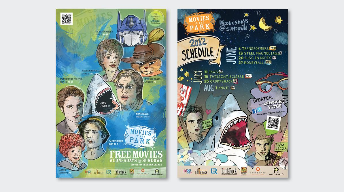 Movies in the Park Posters