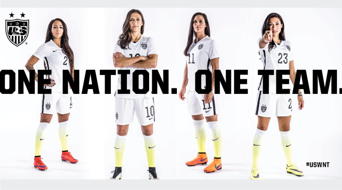 U.S. Soccer One Nation One Team