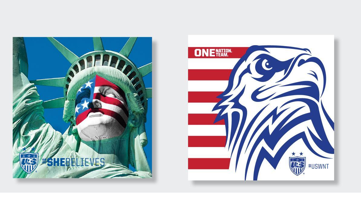 U.S. Soccer Social: Patriotic