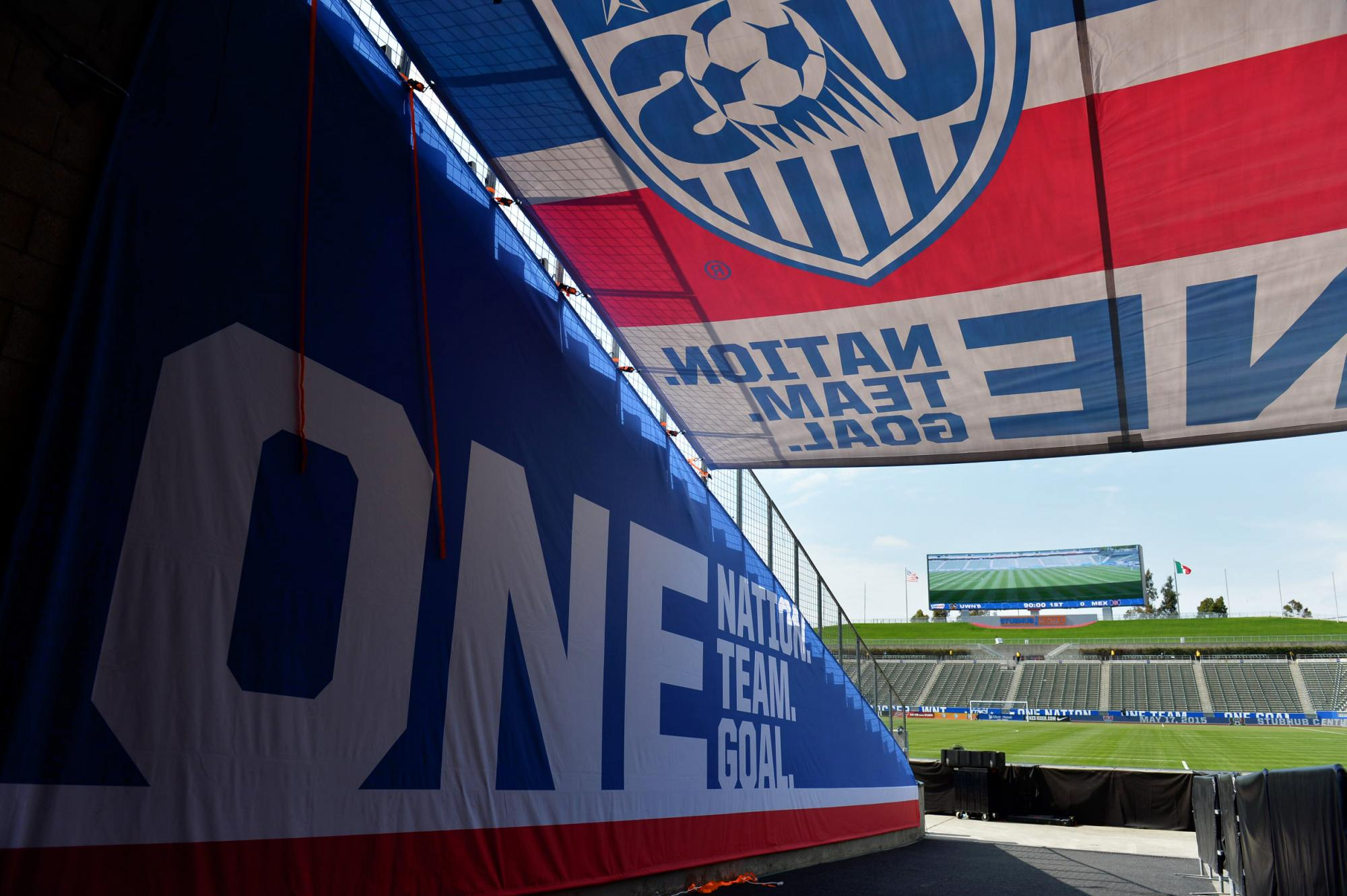 U.S. Soccer Stadium Wrap