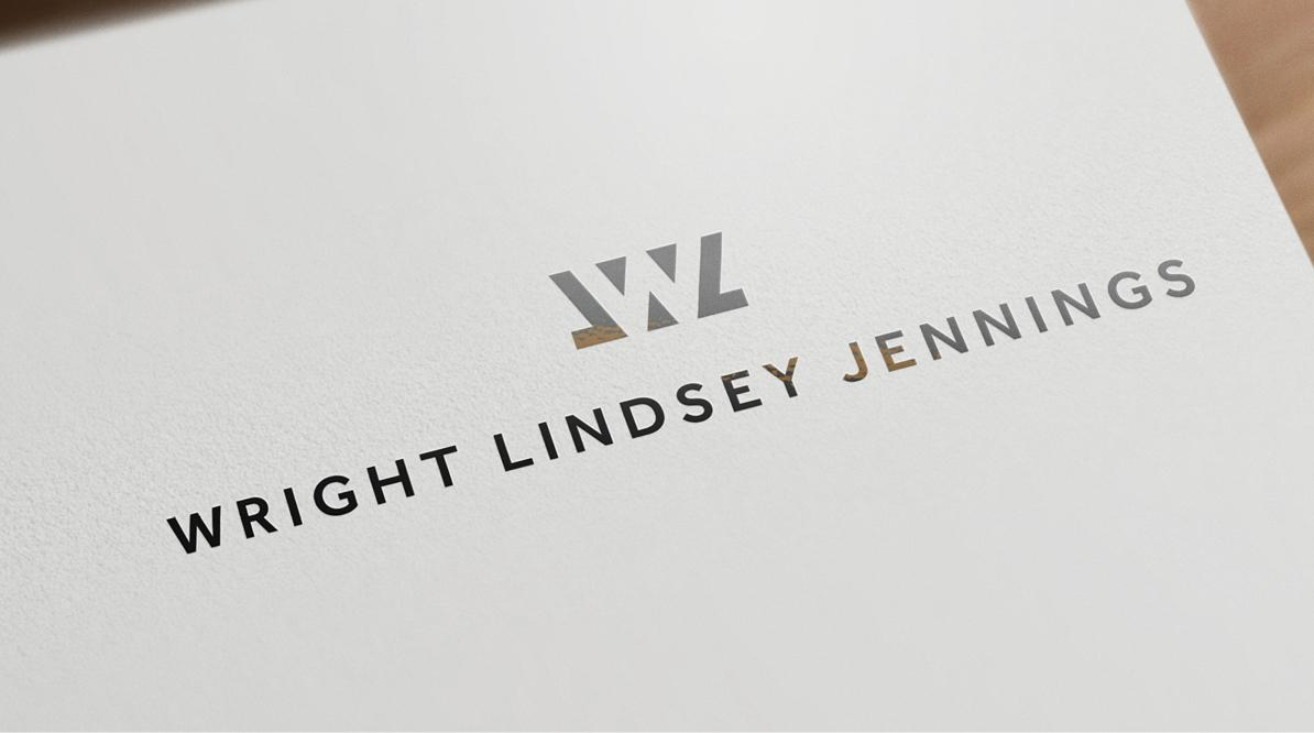 Wright Lindsey Jennings Logo Development